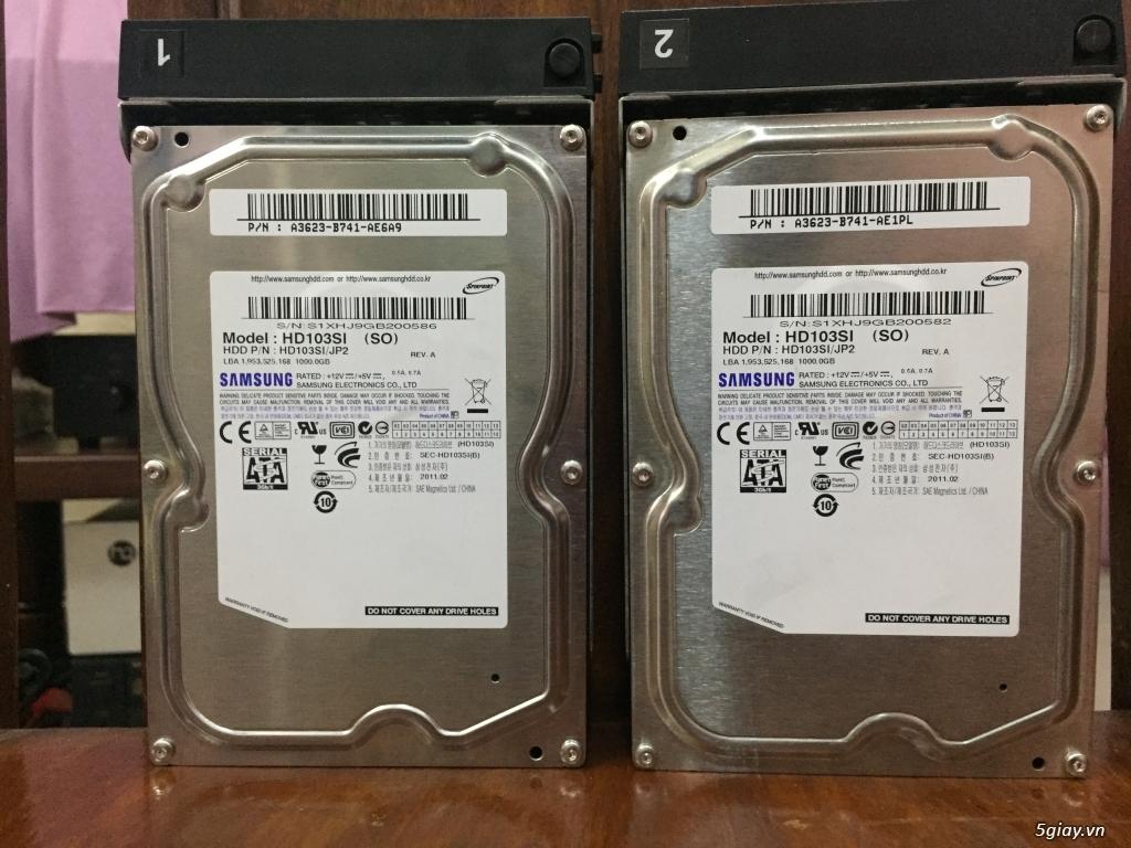 cặp HDD 1 TB theo NAS Buffalo  dòng TS - 2