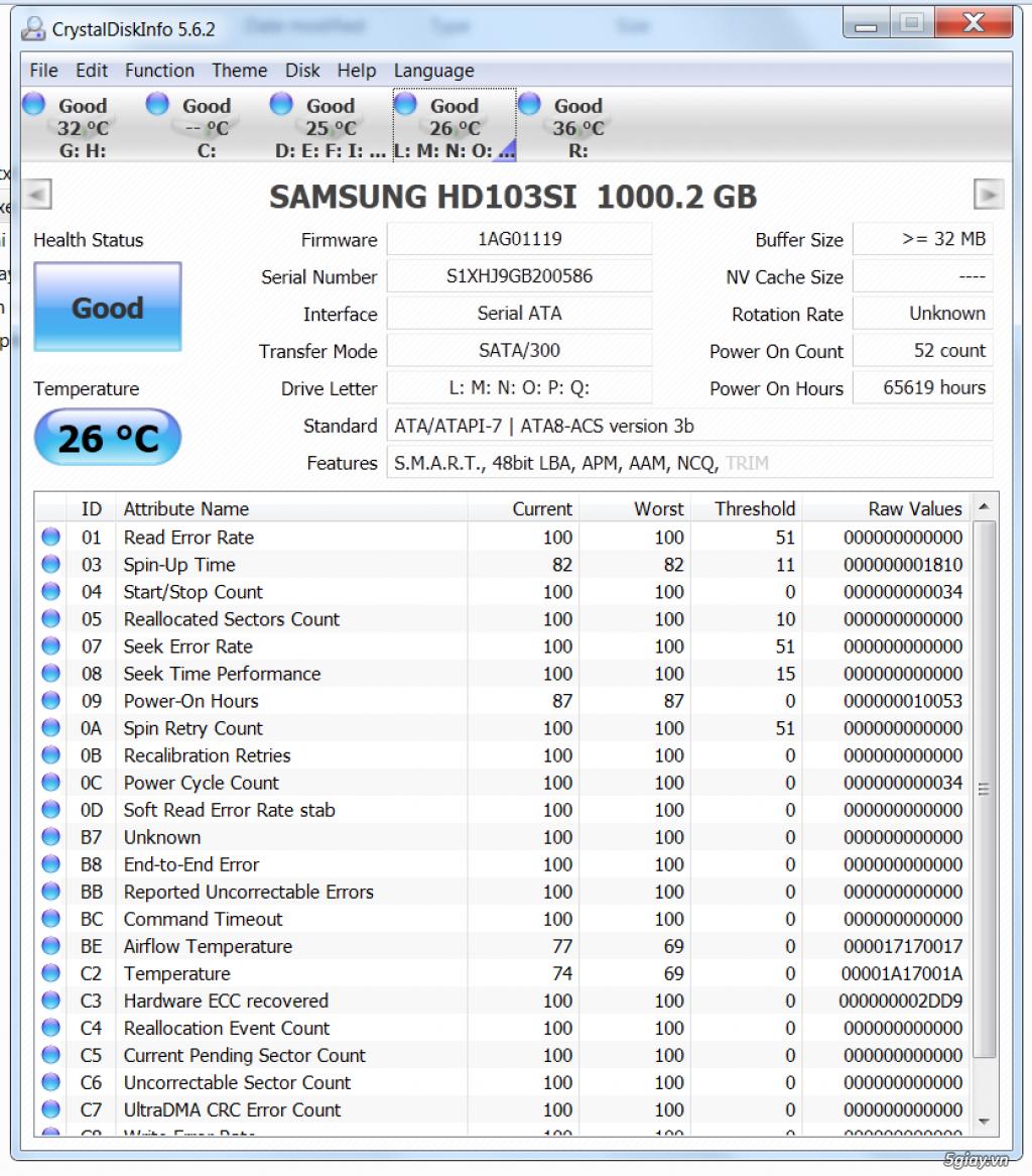 cặp HDD 1 TB theo NAS Buffalo  dòng TS - 7