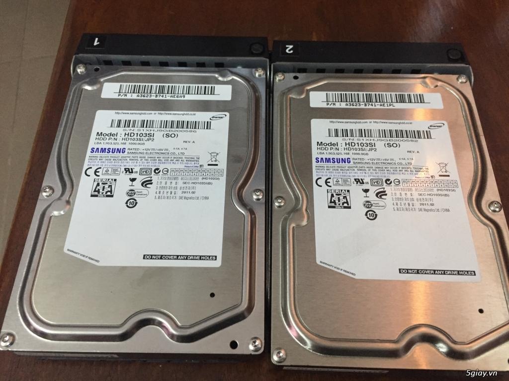 cặp HDD 1 TB theo NAS Buffalo  dòng TS - 4