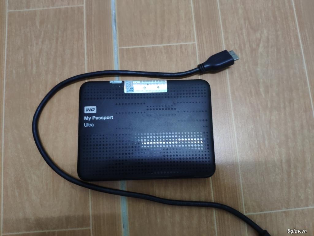Ổ cứng di động Western Digital My Passport Ultra 1TB END 22h59' 13/02/2019 - 2