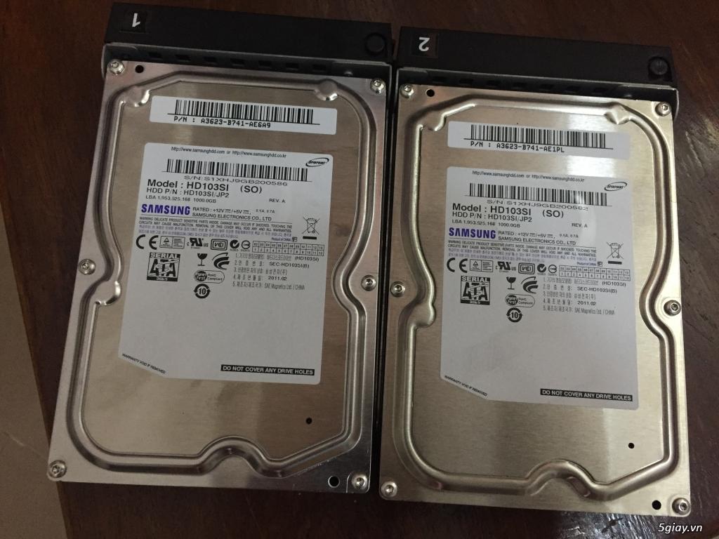 cặp HDD 1 TB theo NAS Buffalo  dòng TS - 3