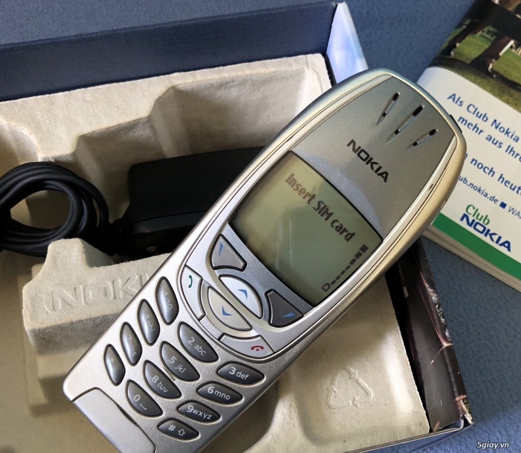 Nokia 6310i Silver T - Mobile Nguyên hộp keng cứng ship Germany - 2