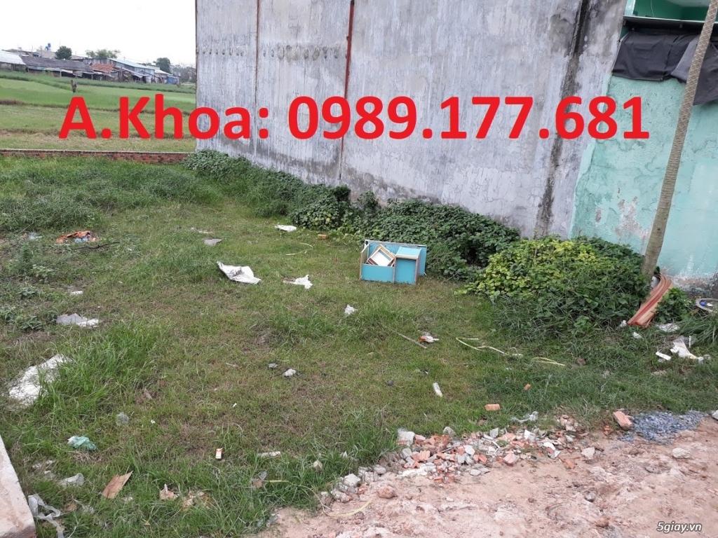 Bán đất 4*13,3m giá 425 triệu, đường Nữ Dân Công, Vĩnh Lộc A, BC, HCM.