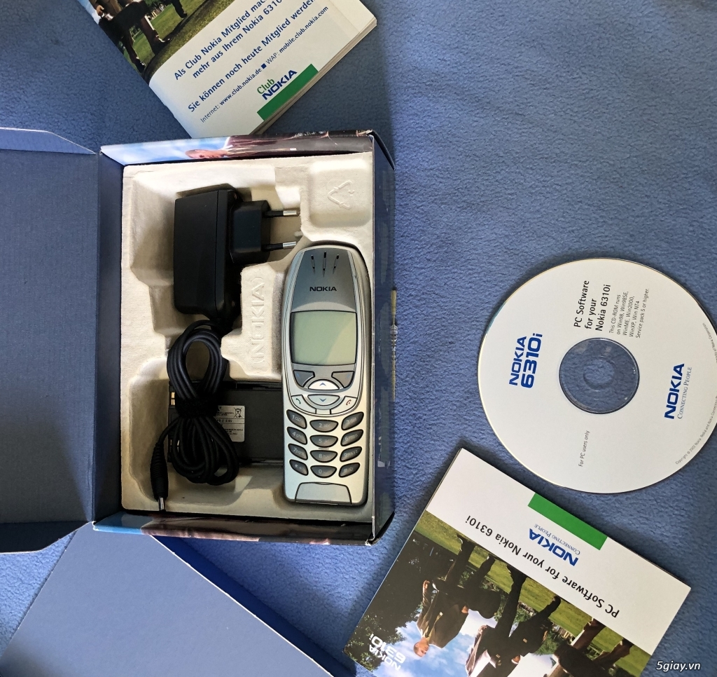 Nokia 6310i Silver T - Mobile Nguyên hộp keng cứng ship Germany - 9
