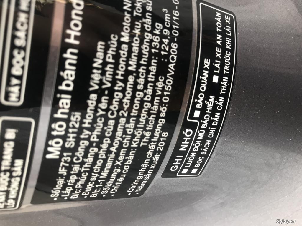 SH 125 ABS bạc đen 1 chủ chạy 2000km mới 99% - 5