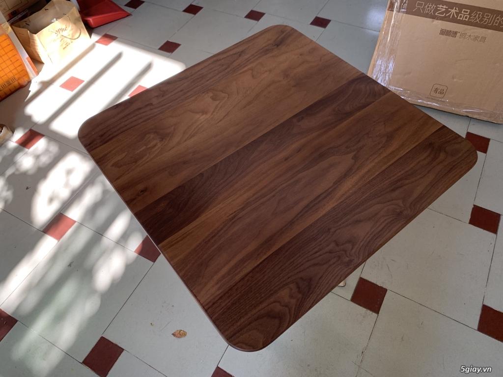Bộ bàn học gỗ Óc Chó nhập khẩu - 4