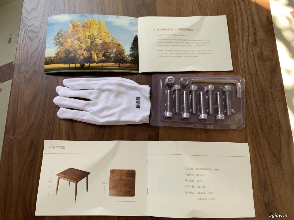 Bộ bàn học gỗ Óc Chó nhập khẩu