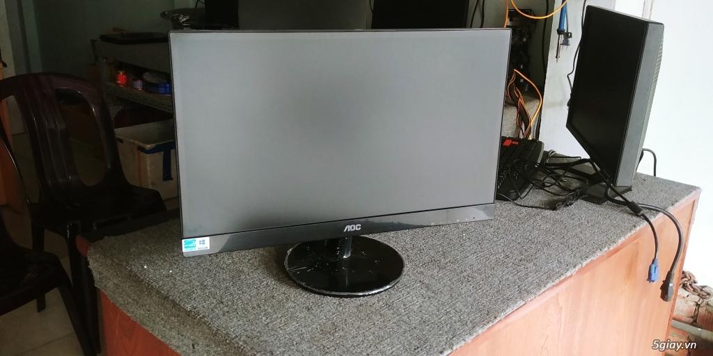 15 con màn hình 24 inch  AOC còn bảo hành 9 tháng giá tốt - 5