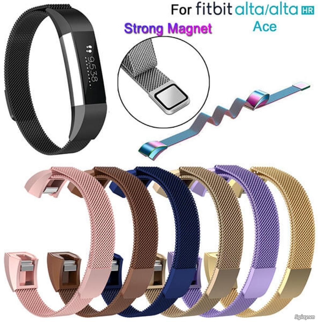Chuyên phụ kiện cho đồng hồ fitbit: alta/charge 2/3, versa/ionic.. - 1