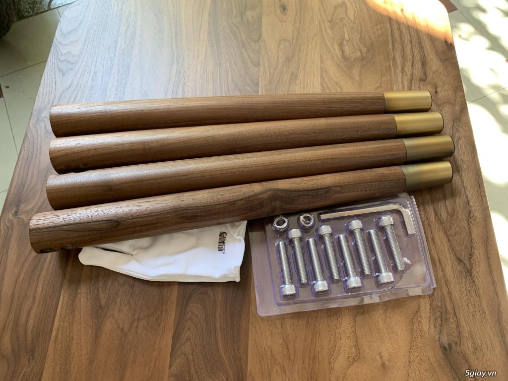 Bộ bàn học gỗ Óc Chó nhập khẩu - 3