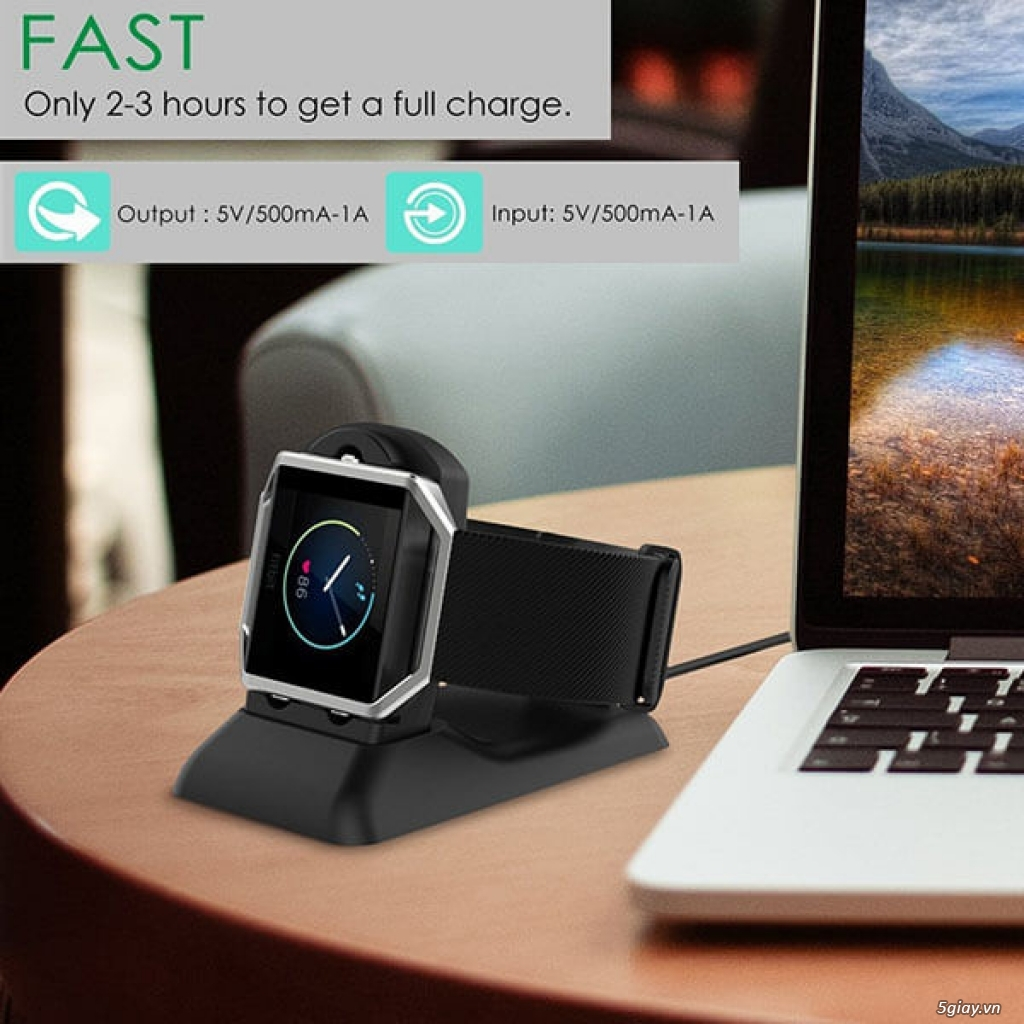Chuyên phụ kiện cho đồng hồ fitbit: alta/charge 2/3, versa/ionic.. - 12