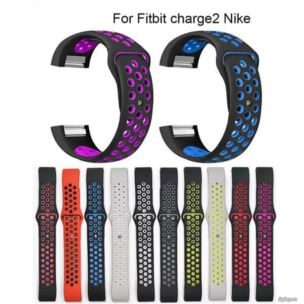Chuyên phụ kiện cho đồng hồ fitbit: alta/charge 2/3, versa/ionic..
