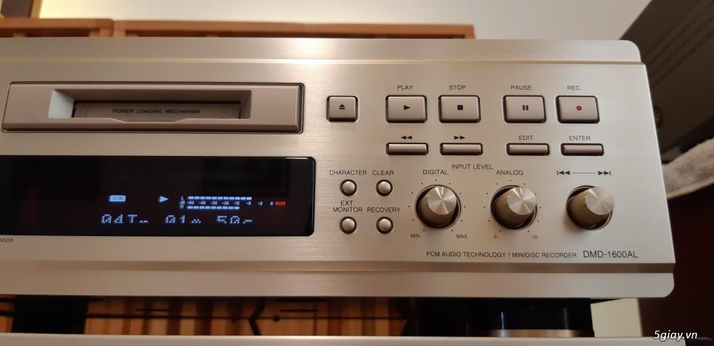 MD Sony JA50ES, Loa Wharfedale W70, Loa Infinity RS-255. - 60