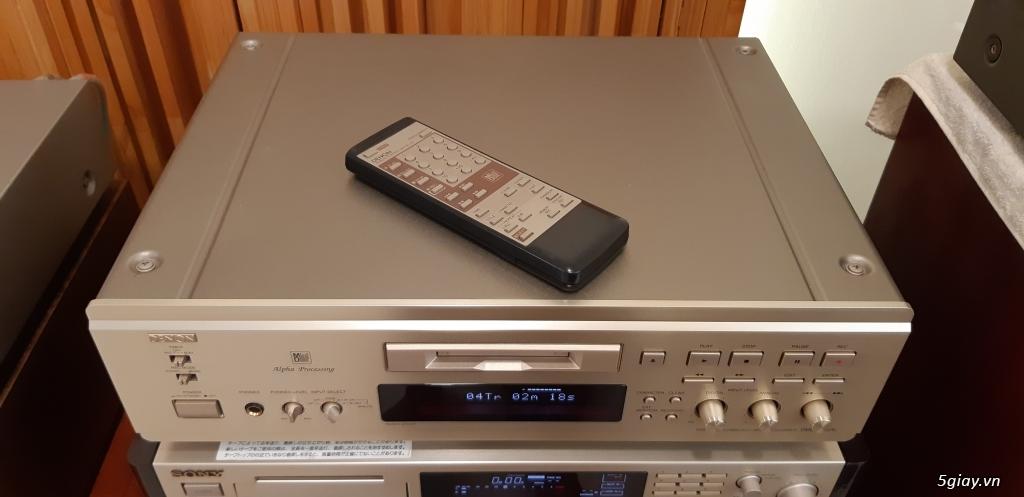 MD Sony JA50ES, Loa Wharfedale W70, Loa Infinity RS-255. - 58