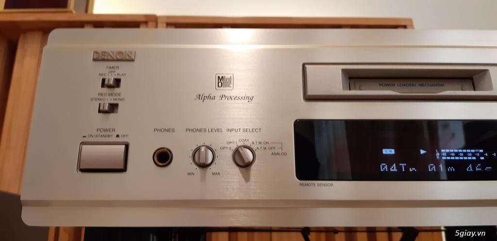 MD Sony JA50ES, Loa Wharfedale W70, Loa Infinity RS-255. - 62