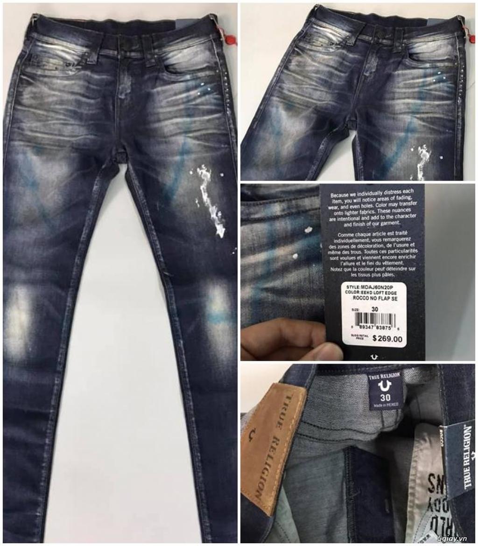 Quần jean si đa ( 2hand ) của các hãng Ông địa , D&G , A/X...  nhập từ USA , Italy ... - 31