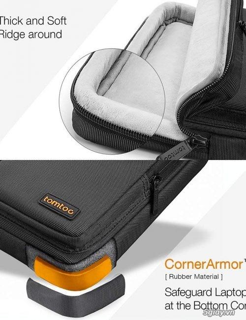 Túi đeo chống sốc TOMTOC (USA) 360* shoulder bags MACBOOK 13 giá tốt - 1
