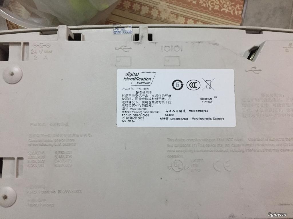 Máy in thẻ nhựa Nisca PR-C101 xuất xứ nhật