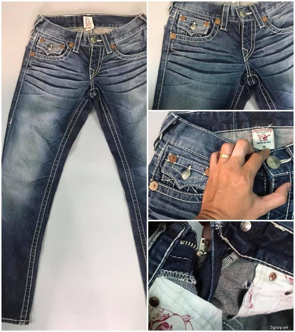 Quần jean si đa ( 2hand ) của các hãng Ông địa , D&G , A/X...  nhập từ USA , Italy ... - 11