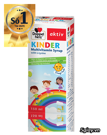 Cần bán sản phẩm Kinder Multivitamin cho trẻ (nhập khẩu từ Đức)