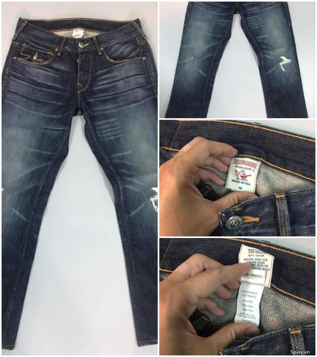 Quần jean si đa ( 2hand ) của các hãng Ông địa , D&G , A/X...  nhập từ USA , Italy ... - 15
