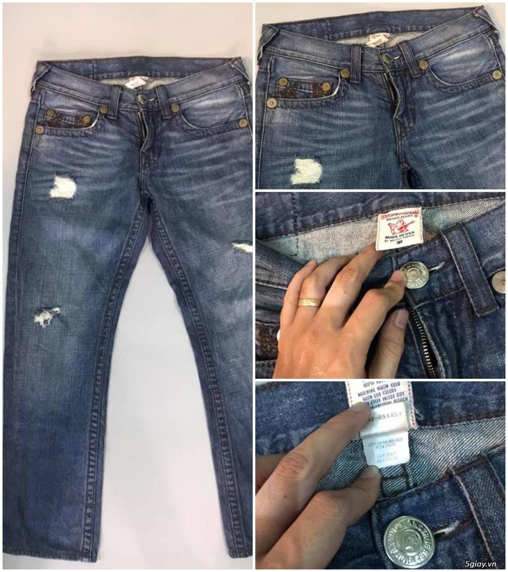 Quần jean si đa ( 2hand ) của các hãng Ông địa , D&G , A/X...  nhập từ USA , Italy ... - 6