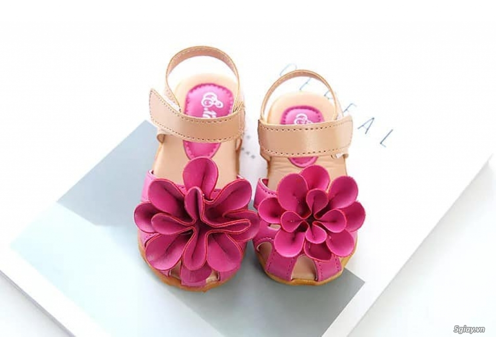 Giày dép hoa sale đẹp rẻ - 1