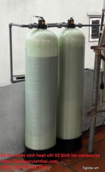 Hệ thống lọc nước phèn đầu nguồn cho sinh hoạt gia đình . - 10