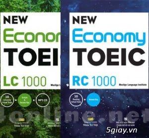 Download New Economy Toeic LC + RC 1000 (Ebook + Audio)