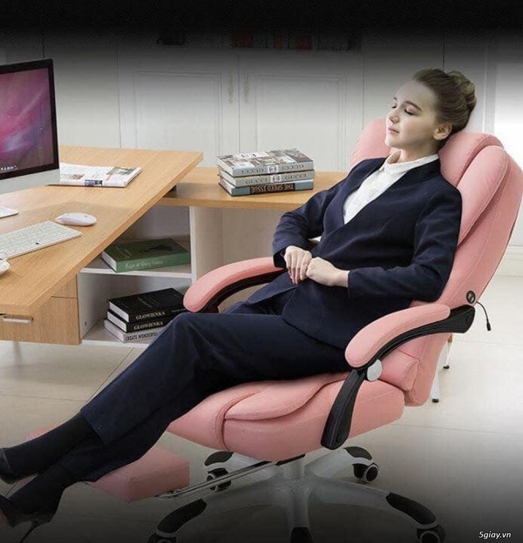 Ghế Văn phòng , Làm Việc + Massage + Ngủ Trưa , cao cấp - 4