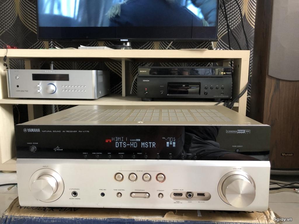 Receiver và ampli (nghe nhạc & xem phim-3D-dtsHD-trueHD-HDMA)loa-center-sub-surround. - 20
