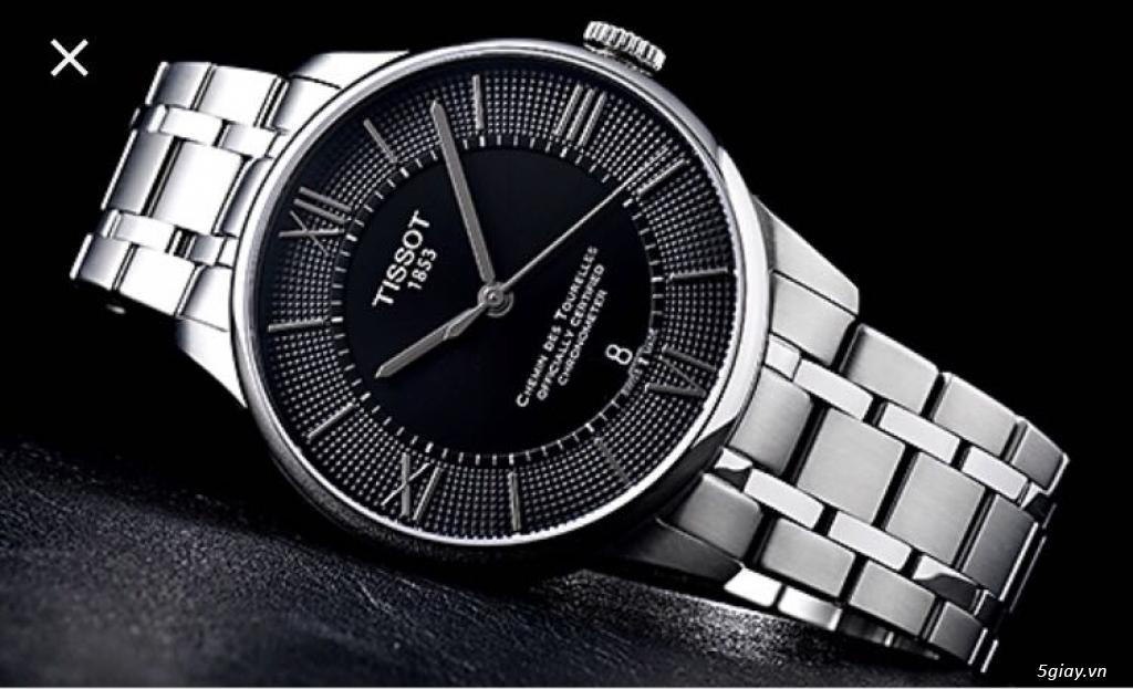 Đồng hồ chính hãng Thụy Sỹ Fc, Raymond Weil, Edox - 1