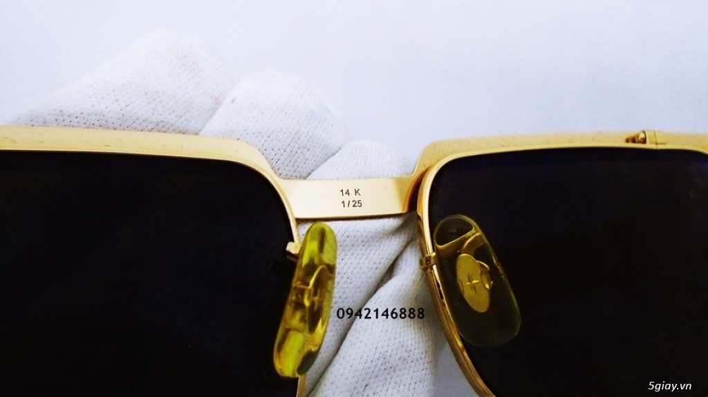 kính Solex chữ H 503 mạ vàng - 24