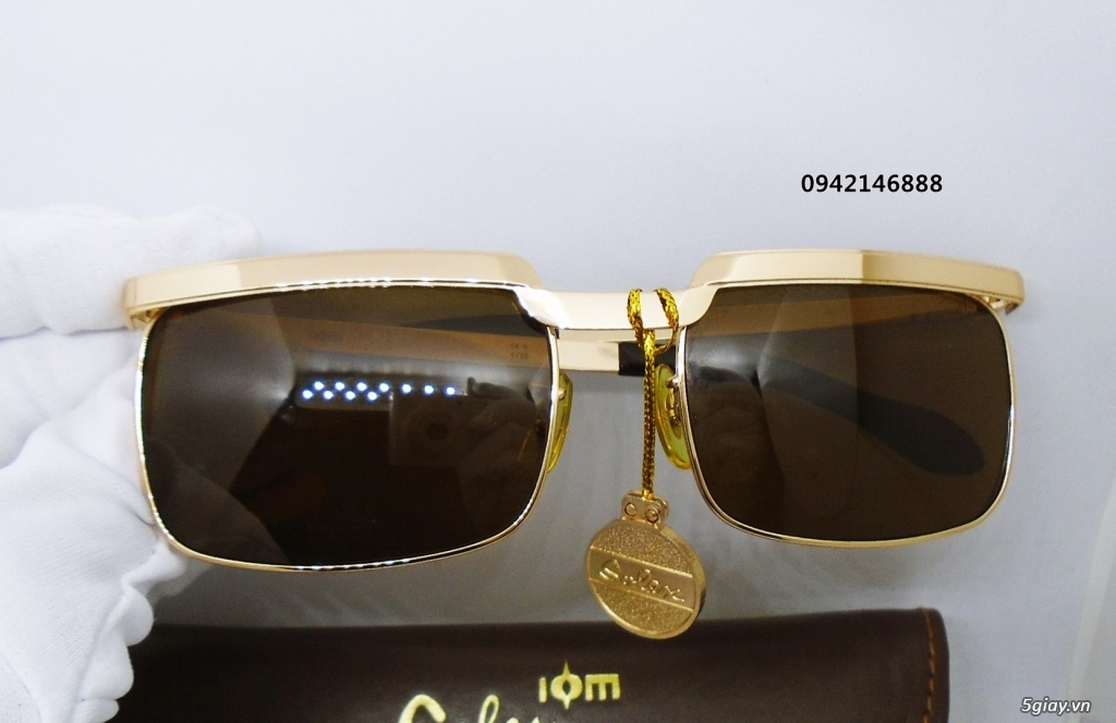 kính Solex chữ H 503 mạ vàng - 2