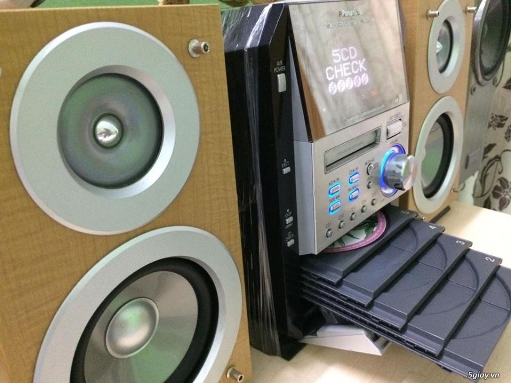 Dàn máy mini bookself 05 CD hiệu PANASONIC nội địa japan bi-wire hay - 8
