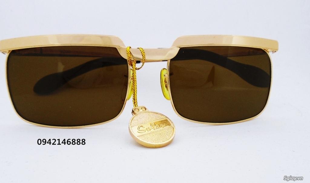 kính Solex chữ H 503 mạ vàng