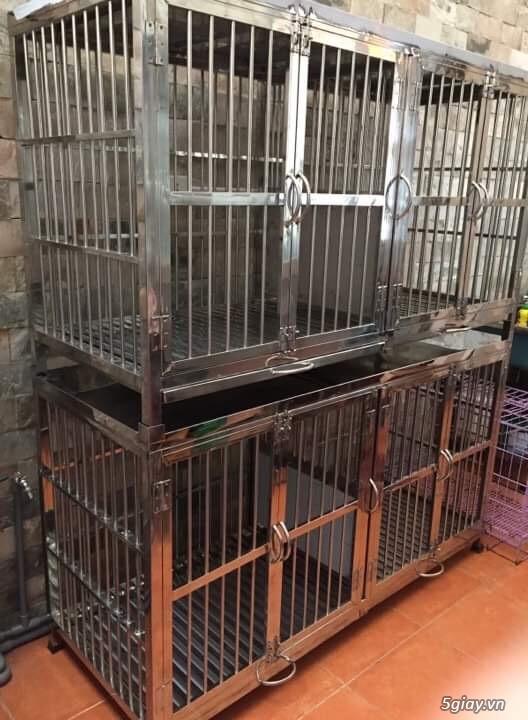 Nhận đặt chuồng chó theo yêu cầu