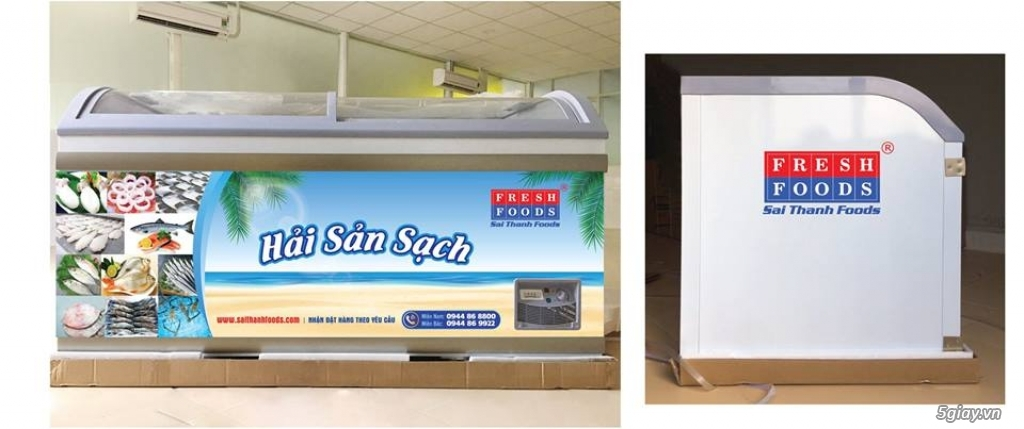 Hợp tác kinh doanh - Mở điểm bán lẻ hải sản đông lanh - KV TPHCM
