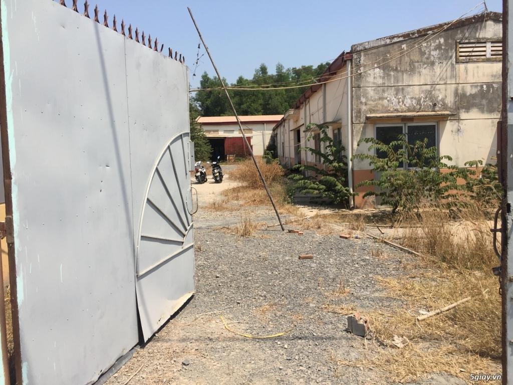 Bán nhà xưởng mặt tiền đường nhựa 12m - Tân An Hội Củ Chi ✅ Diện tích: - 2