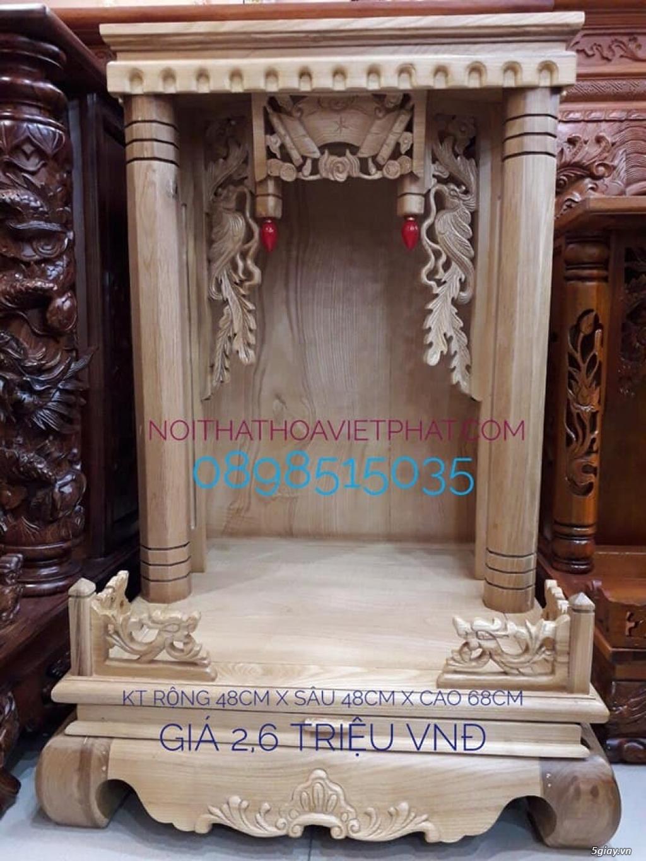 Bán bàn thờ thần tài đẹp giá sỉ