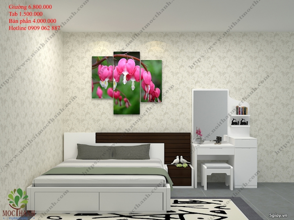 Giường ngủ giá rẻ- phòng ngủ -  Tủ bếp - Bàn sofa rẻ -  Đồ gỗ giá giảm sốc - 14