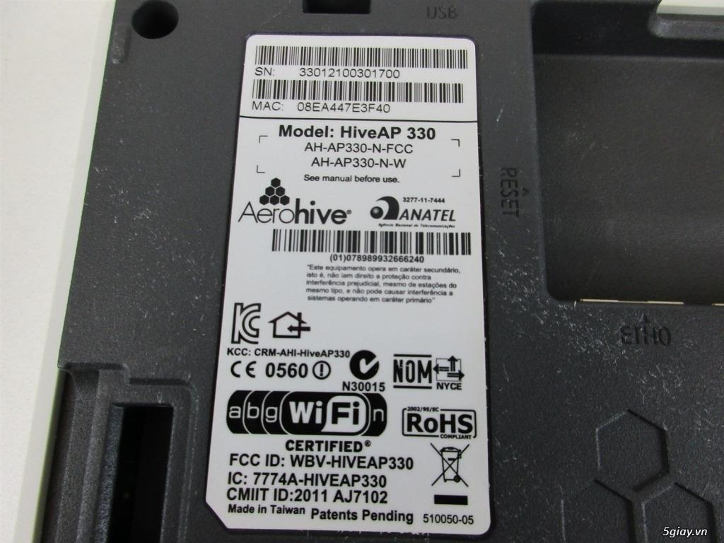Bộ phát wifi Aerohive AP330 (Wifi USA cao cấp siêu bền siêu chịu tải) - 3