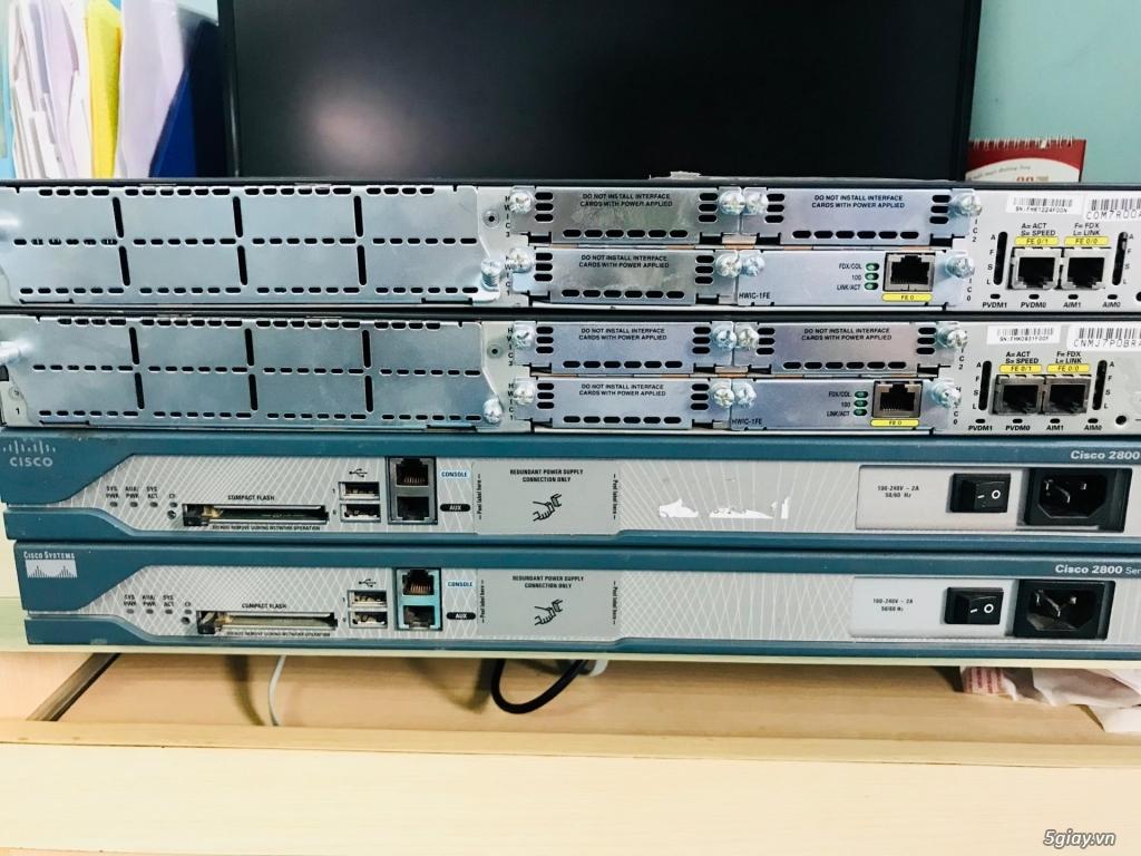 Thiết bị định tuyến (router) Cisco siêu rẻ! Bảo hàng 06 - 12 tháng! - 6