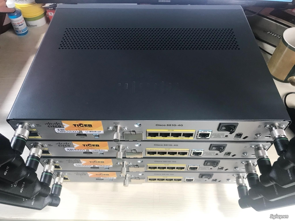 Thiết bị định tuyến (router) Cisco siêu rẻ! Bảo hàng 06 - 12 tháng! - 3