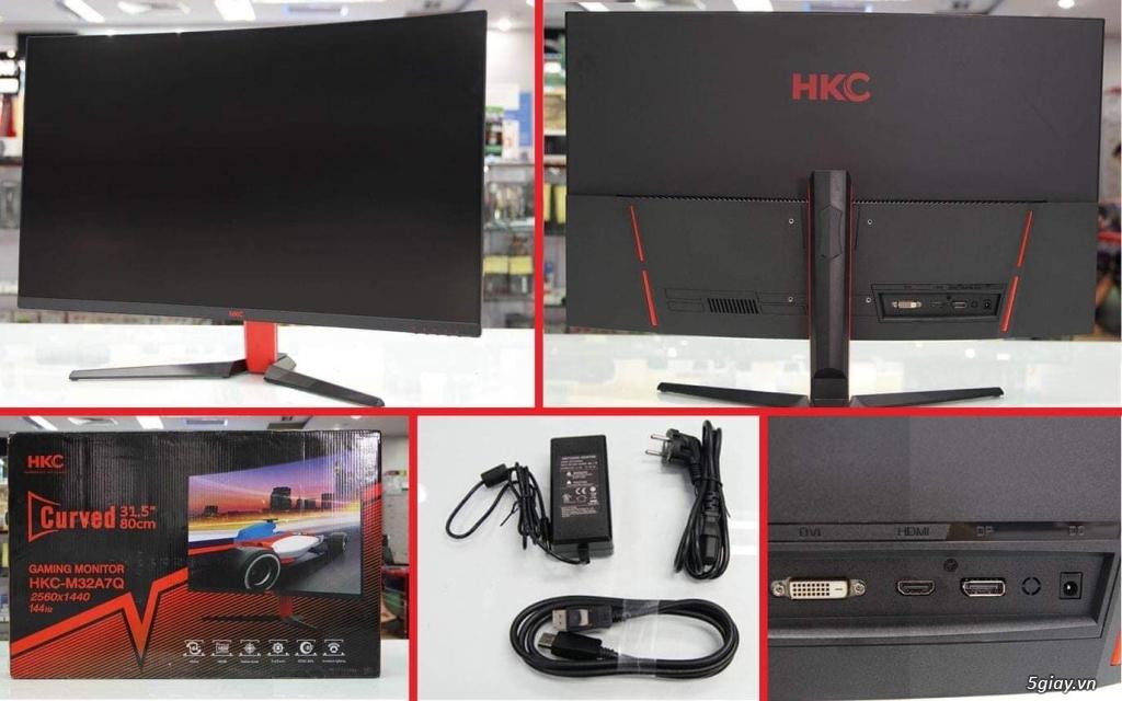 Bán màn hình 32 inch HKC M32A7Q - 2K-144hz cho Gamer - TP Hồ Chí