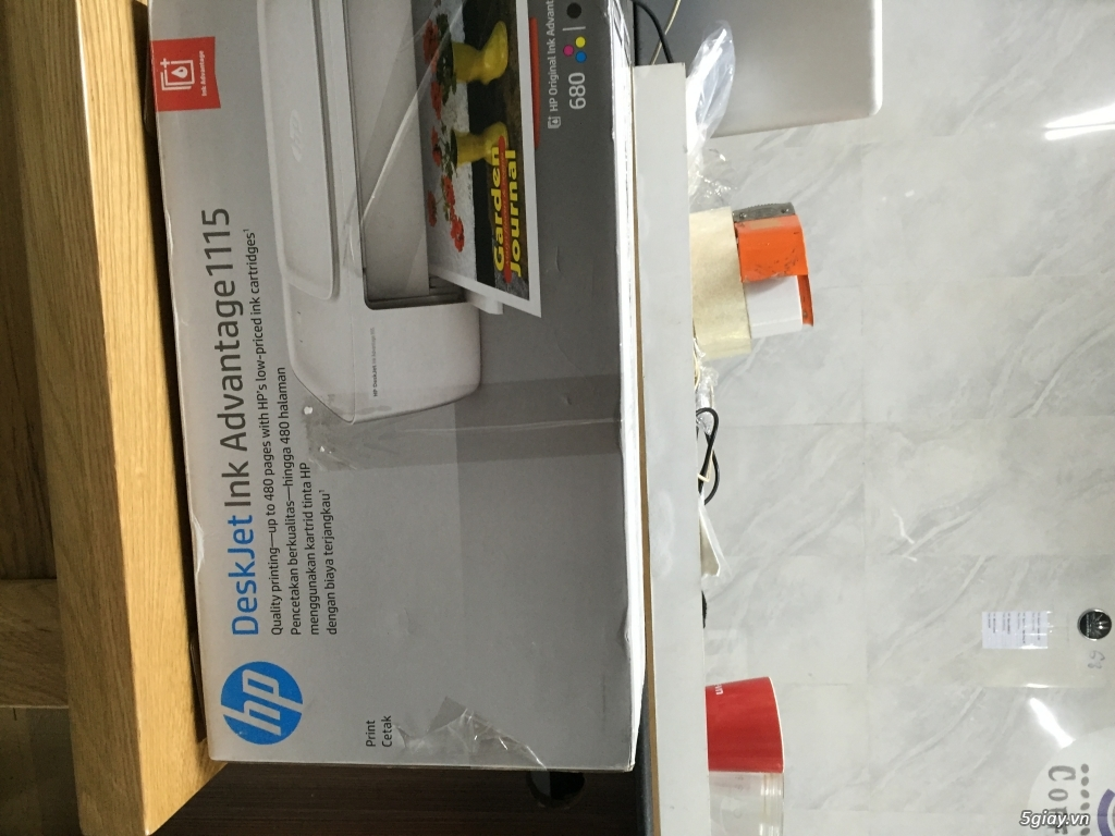 Thanh lí máy in mini - in màu - in trắng đen - bao đẹp giá bèo nhèo - 5