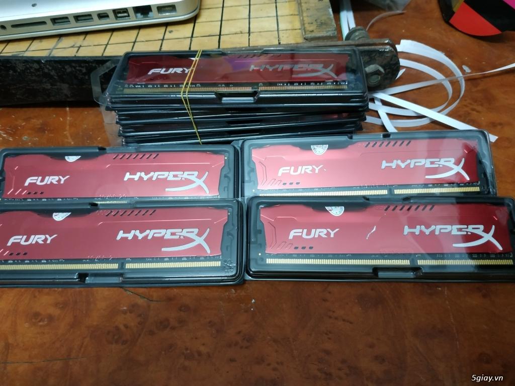 Ram DDR3 8G Kingston Tản nhiệt FuRy mới