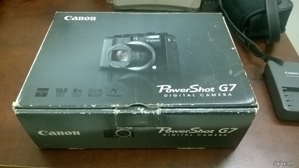 Canon power shot G7 nguyên zin full box - 12