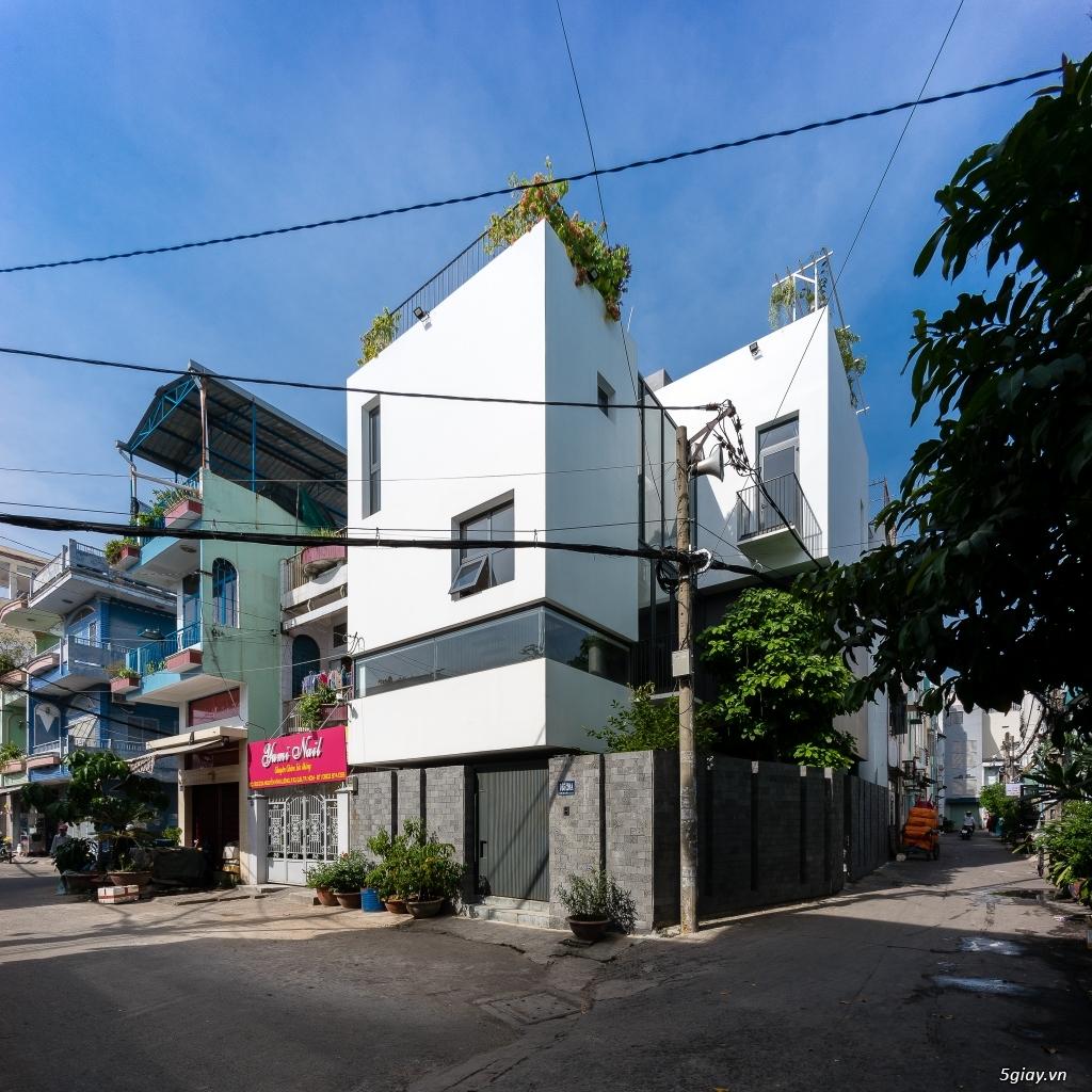 Cần bán (hoặc cho thuê) Biệt thự phố 8x13 căn góc khu Bình phú Q6 - 4