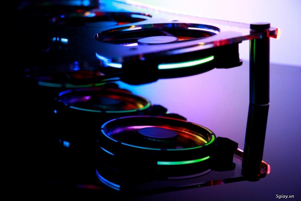 Đế tản nhiệt laptop 12V siêu mát - Thiết kế riêng cho từng dòng máy